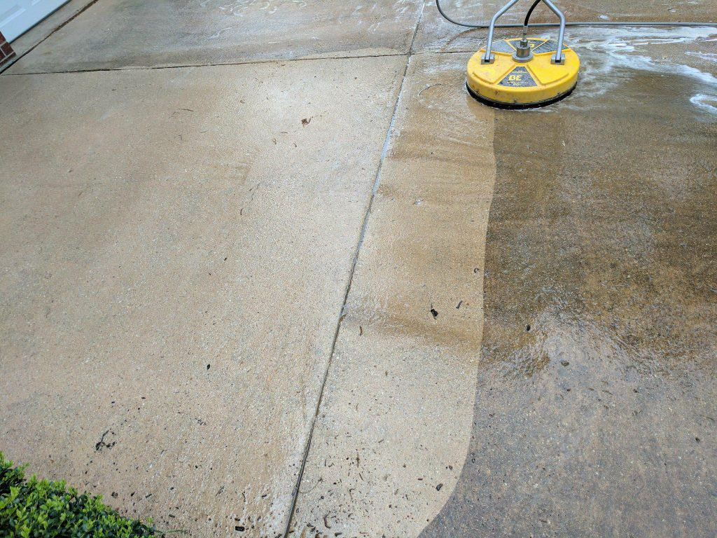 surface concrete cleaning lubbock